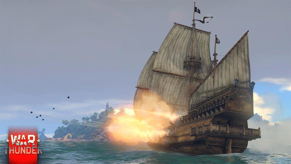 WarThunder(ウォーサンダー)WT 歴史的な海洋戦が楽しめるイベント・アーケードモード(AB)