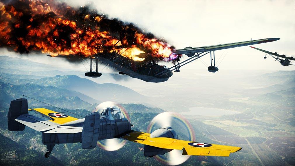 WarThunder(ウォーサンダー)WT 戦闘機と攻撃機の空戦
