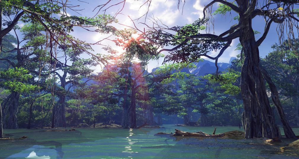天涯明月刀online 湖のスクリーンショット