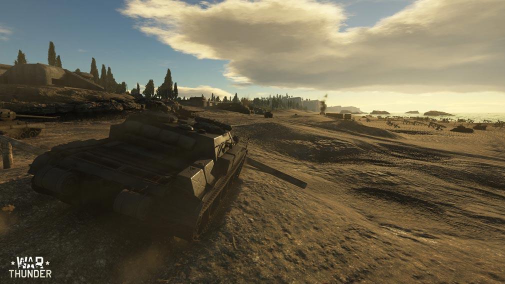 WarThunder(ウォーサンダー)WT 砂漠の戦場