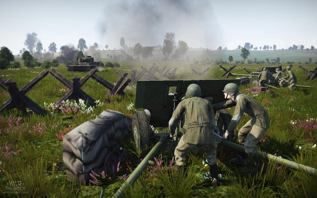 WarThunder(ウォーサンダー)WT 戦車防衛