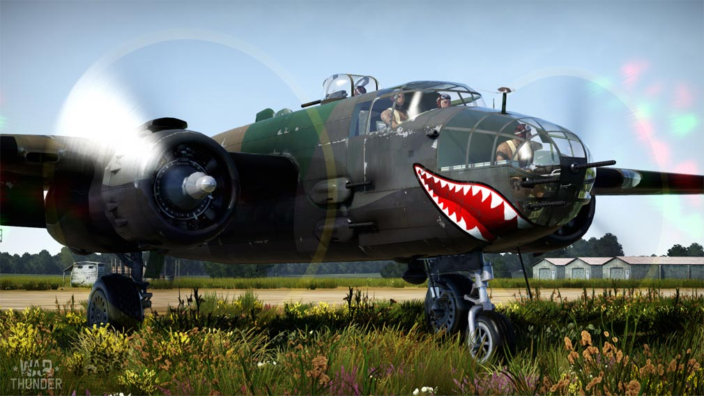 WarThunder(ウォーサンダー)WT 飛行戦闘機 口にデカール