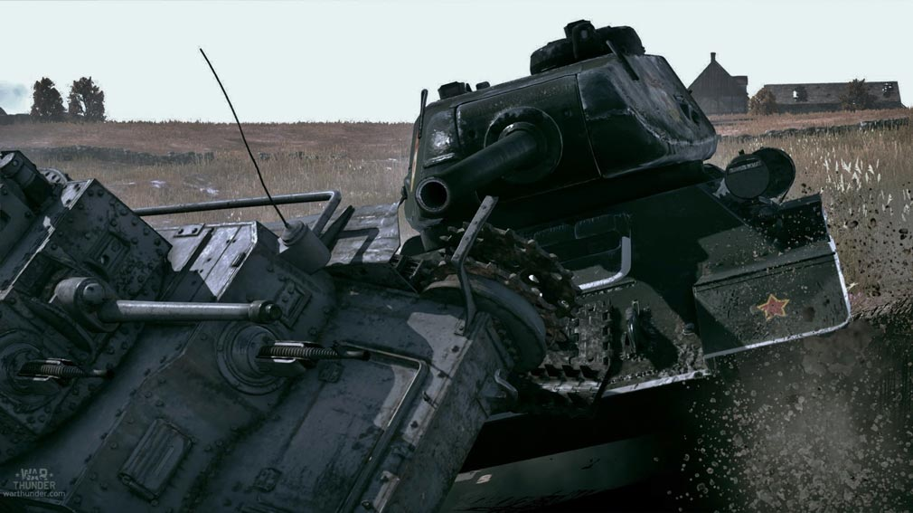 WarThunder(ウォーサンダー)WT 戦車接近戦闘