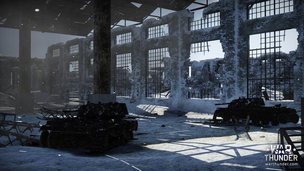 WarThunder(ウォーサンダー)WT 雪国での戦車バトル