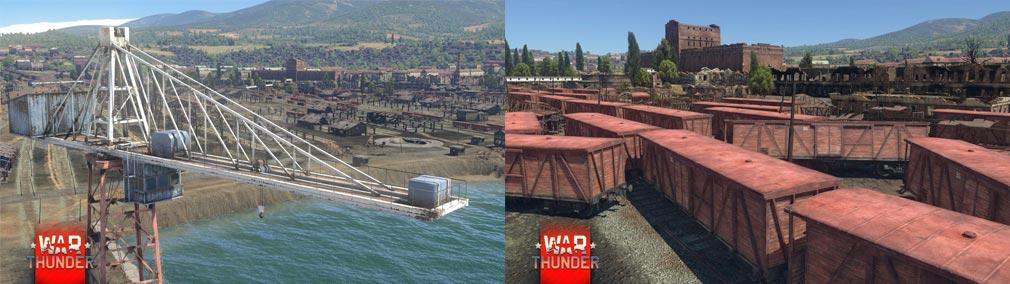 WarThunder(ウォーサンダー)WT マップ【ロシア ノヴォロシースク・ポート】