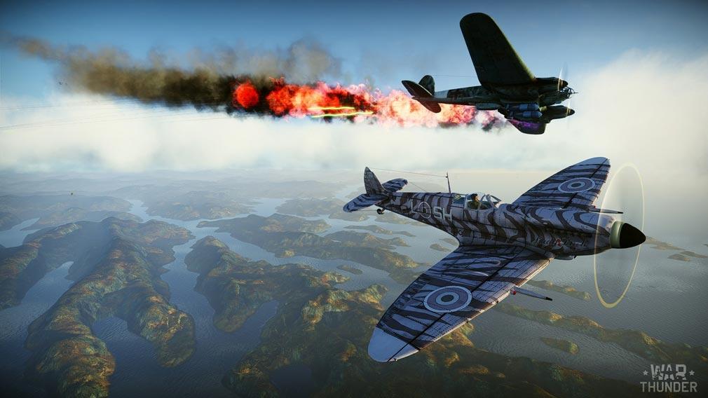 WarThunder(ウォーサンダー)WT 飛行戦闘