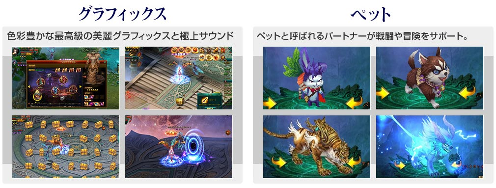 リグレティア ゲーム紹介イメージ
