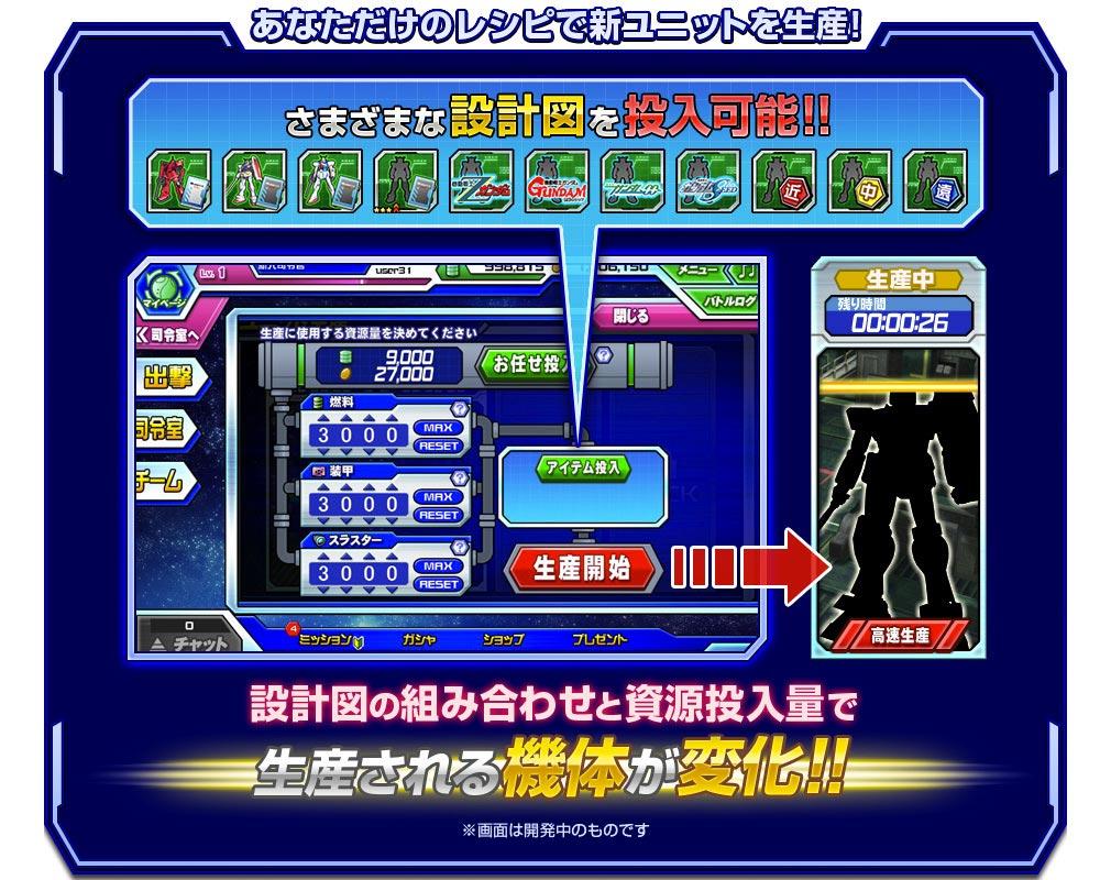 ガンダムトライヴ(GUNDAM TRIBE) 生産・開発紹介