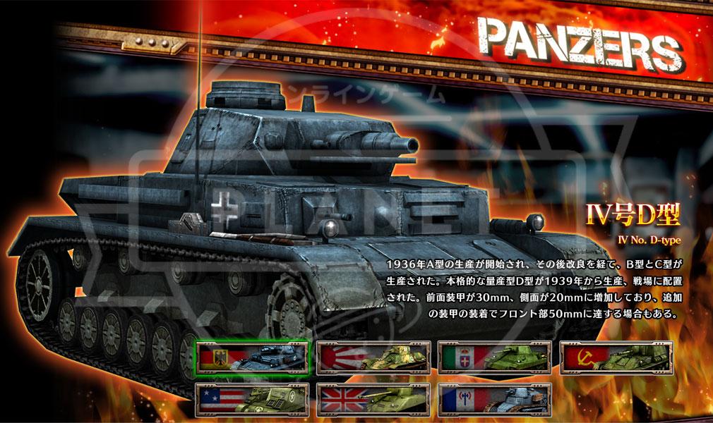 クラッシュ オブ パンツァー PC Ⅳ号D型戦車