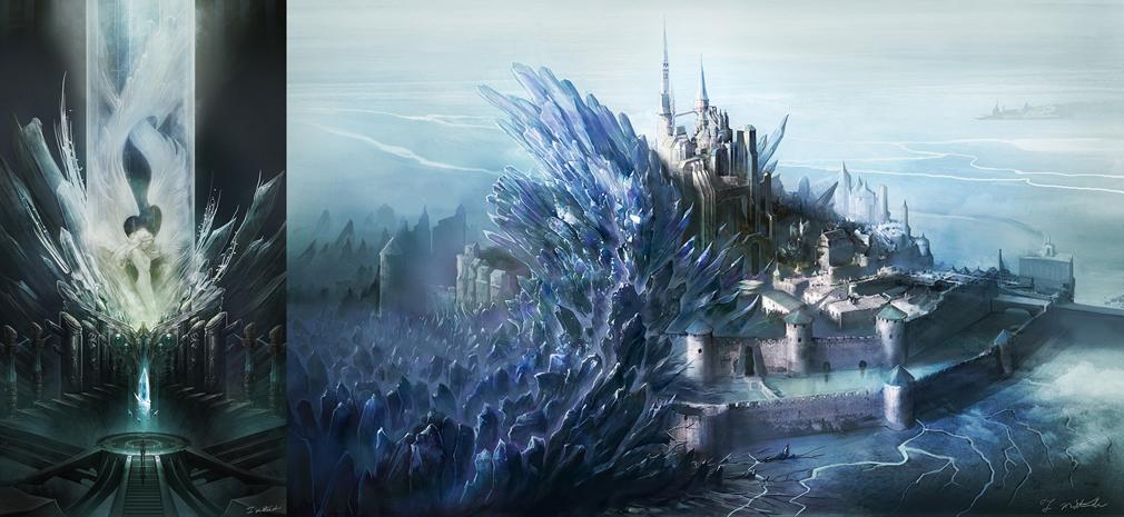 メビウスFF(メビウスファイナルファンタジー) PC 世界観アートワーク