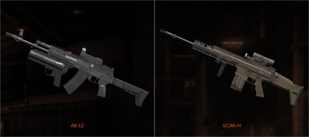 BLACK SQUAD(ブラック スクワッド) 銃器