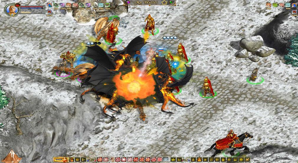 FRAGORIA plus (フラゴリア プラス) 戦闘画面
