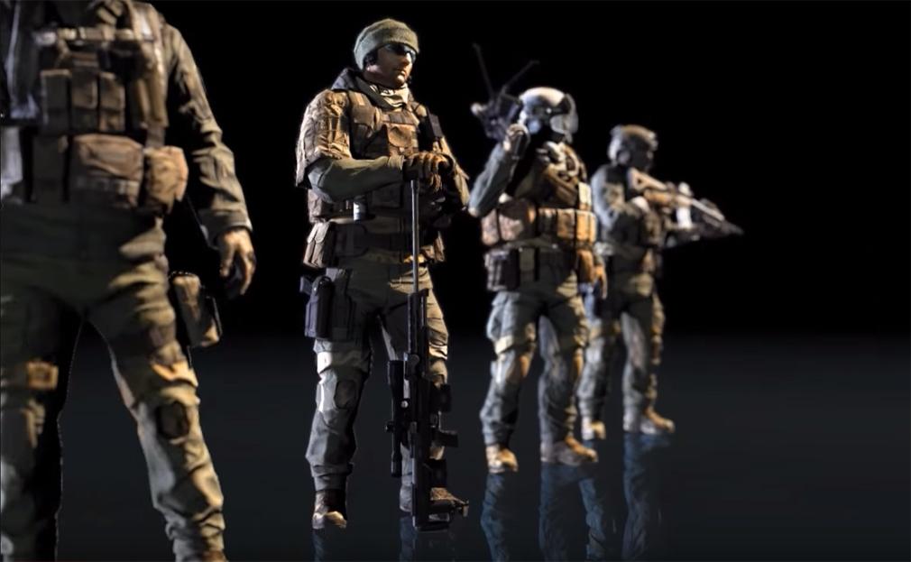 BLACK SQUAD(ブラック スクワッド) 兵科4種