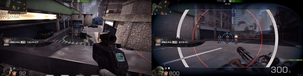 BLACK SQUAD(ブラック スクワッド) レベル3【ヘルファイア】、レベル4【タイラント】