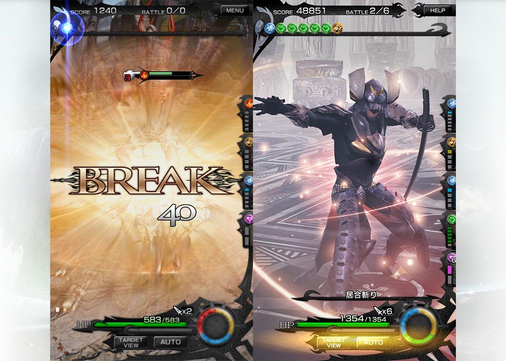 メビウスFF(メビウスファイナルファンタジー) PC 【ブレイク】と【固有必殺技】の居合斬り