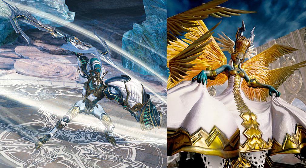 メビウスFF(メビウスファイナルファンタジー) PC FF13のライトニングの召喚獣『オーディン』と聖天使『アルテマ』