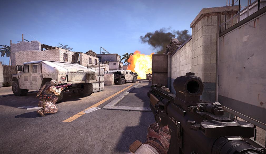 BLACK SQUAD(ブラック スクワッド) FPS視点