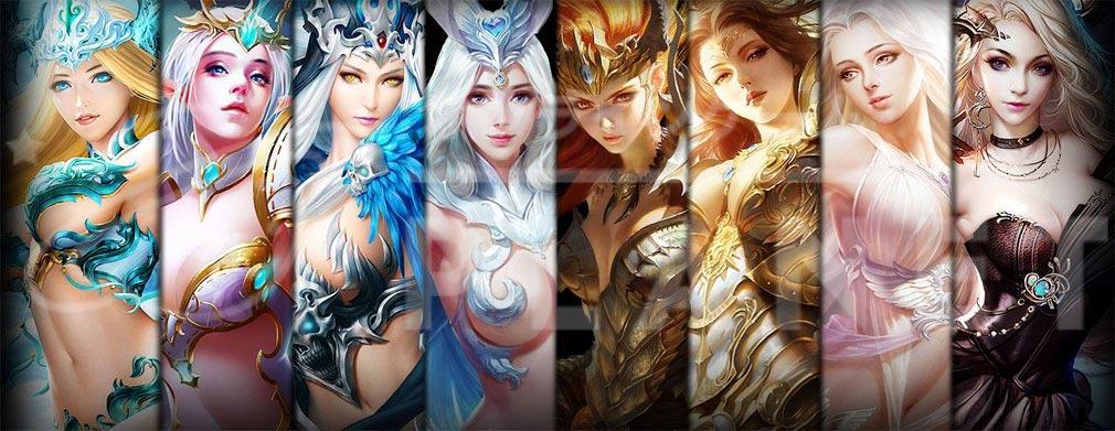 League of Angels2(リーグ オブ エンジェルズ2)LoA2 女性キャラクター