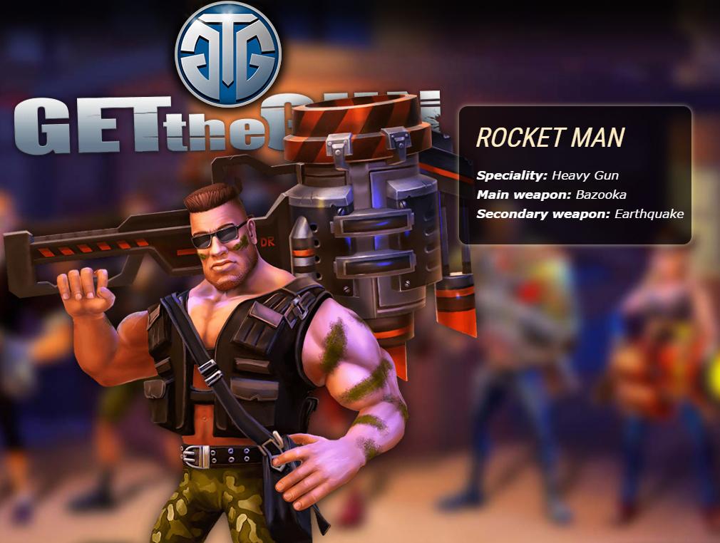ガンズ オブ レクイエム(GETtheGUN) ROCKETMAN(ロケットマン)