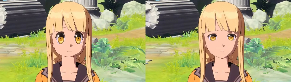 ペリアクロニクルズ(PERIA CHRONICLES) キャラクターメイキング目の大きさ