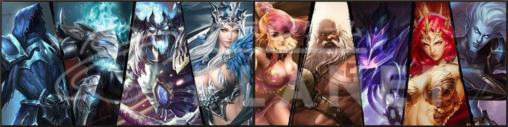 League of Angels2(リーグ オブ エンジェルズ2)LoA2 キャラクター