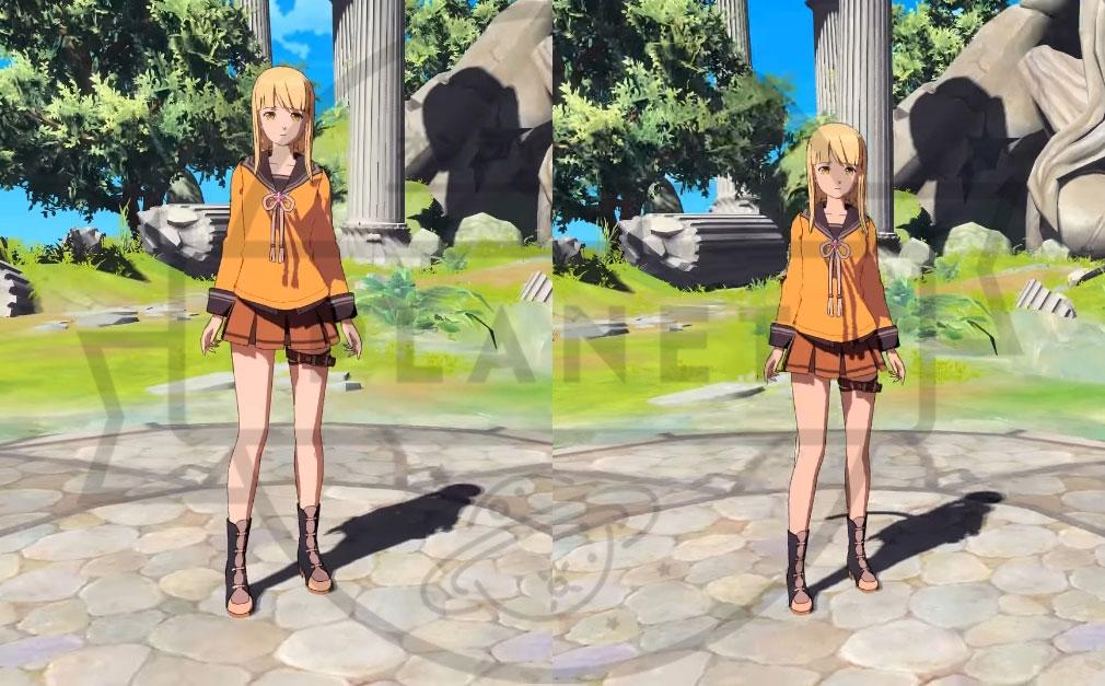 ペリアクロニクルズ(PERIA CHRONICLES) キャラクターメイキング身長