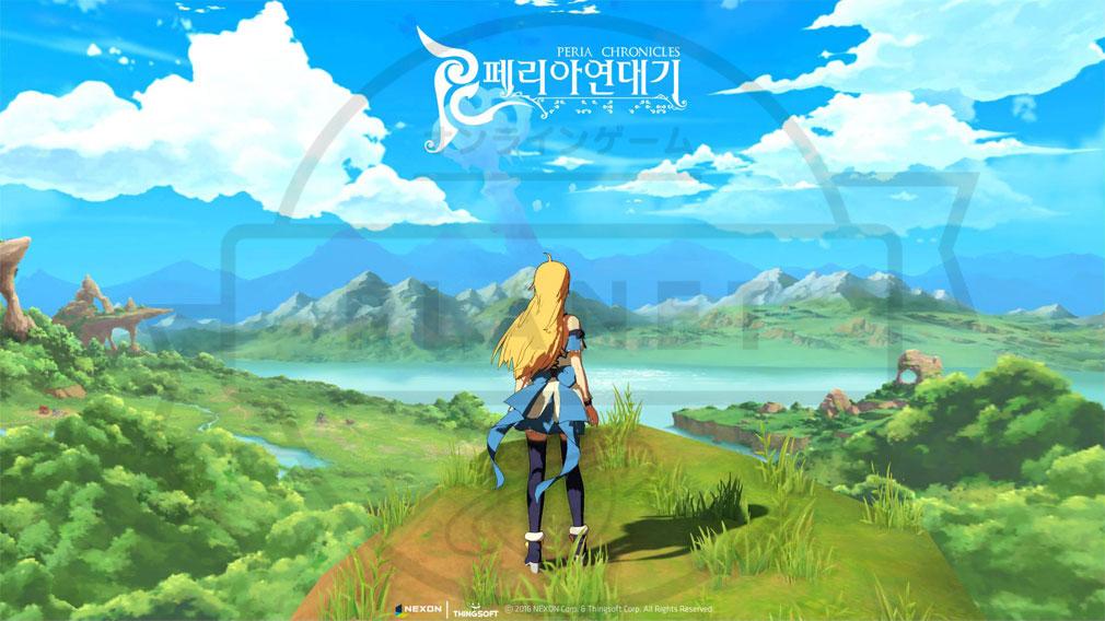 ペリアクロニクルズ(PERIA CHRONICLES) 世界観に分かるポスターイメージ