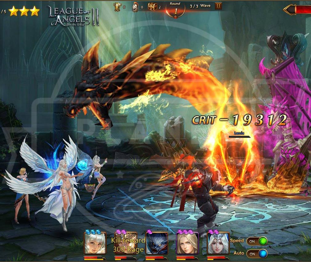 League of Angels2(リーグ オブ エンジェルズ2)LoA2 ボス戦