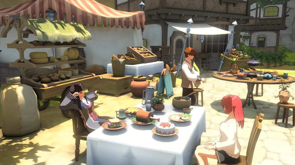 ペリアクロニクルズ(PERIA CHRONICLES) アニメのようなゲーム内画像
