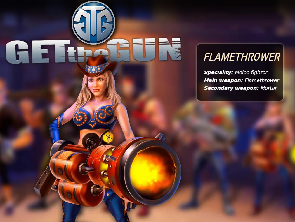 ガンズ オブ レクイエム(GETtheGUN) FLAME THROWER(火炎放射器)