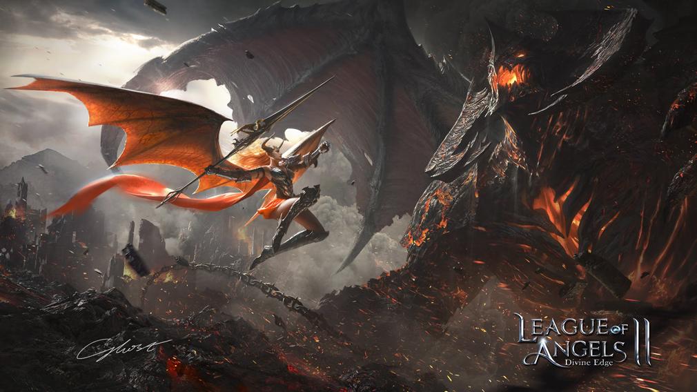 League of Angels2(リーグ オブ エンジェルズ2)LoA2 物語メインイメージ