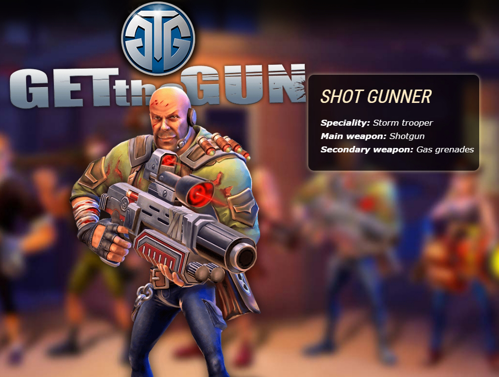 ガンズ オブ レクイエム(GETtheGUN) SHOT GUNNER(ショットガンナー)