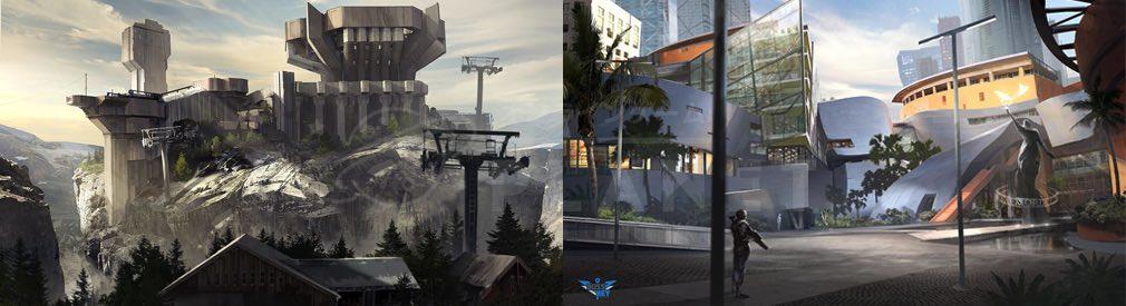 ローブレイカーズ(LawBreakers) 世界観2015年コンセプトアート