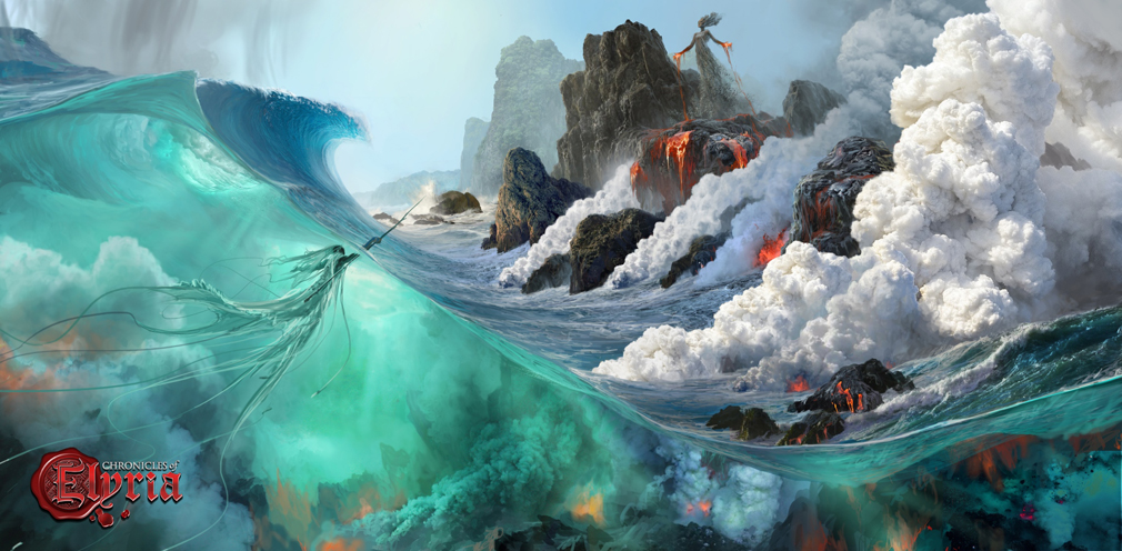 Chronicles of Elyria(クロニクルズ オブ イリリア) テラ&オセアヌス(Terra & Oceanus)コンセプトアート