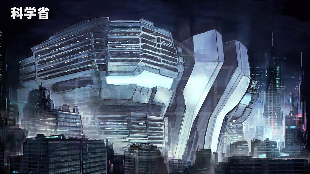 アトム:時空の果て(Astroboy: Edge of Time) コンセプトアート:科学省