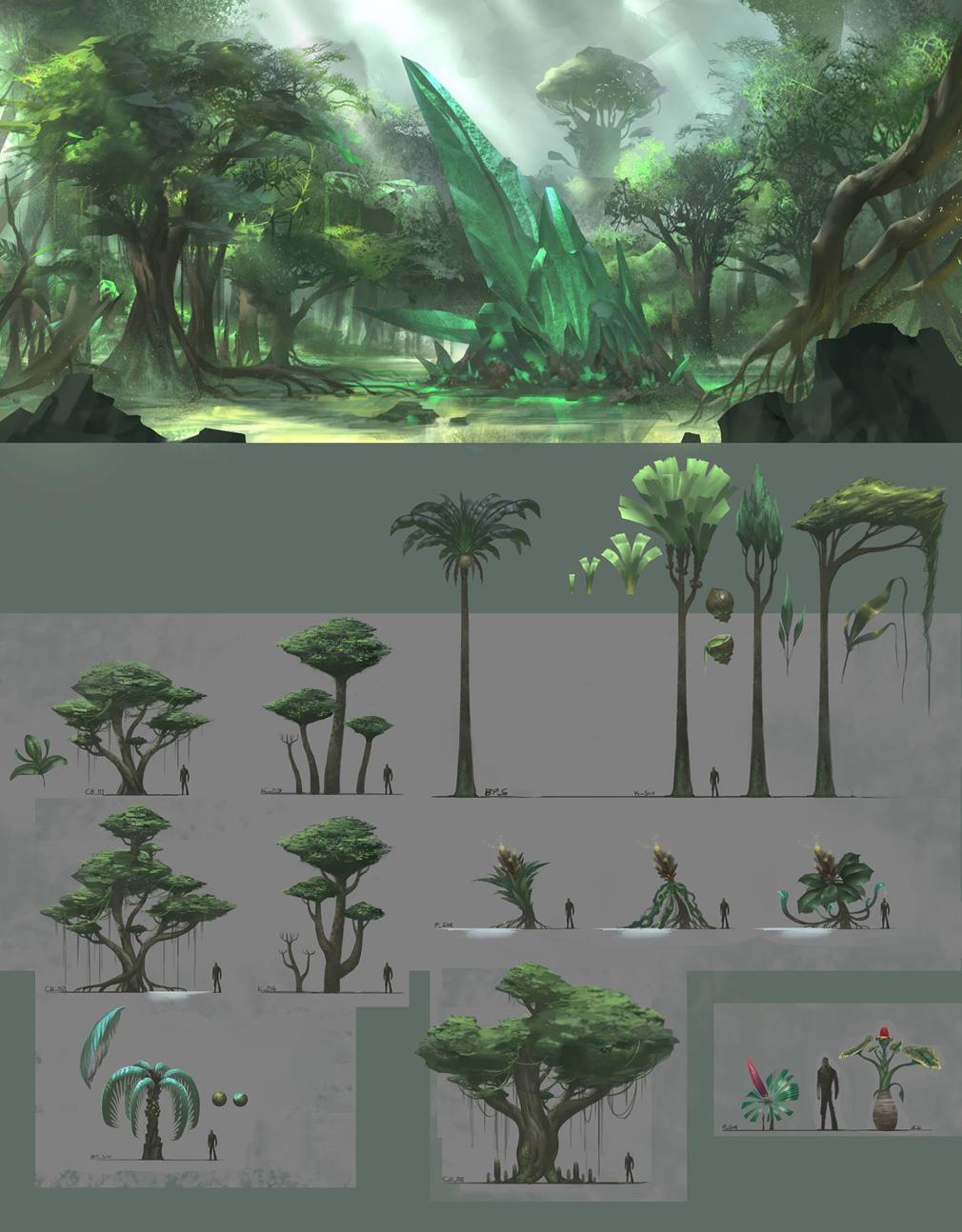 Dark and Light(ダークアンドライト)DnL 植物の開発風景