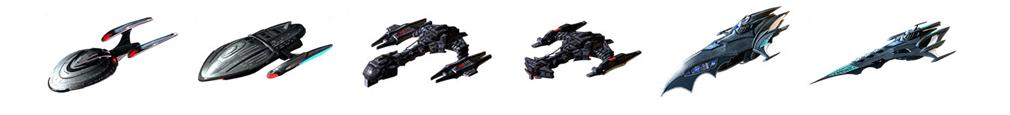 STAR TREK エイリアン ドメイン(スター・トレック) -生命体8472の陰謀- 強力宇宙船
