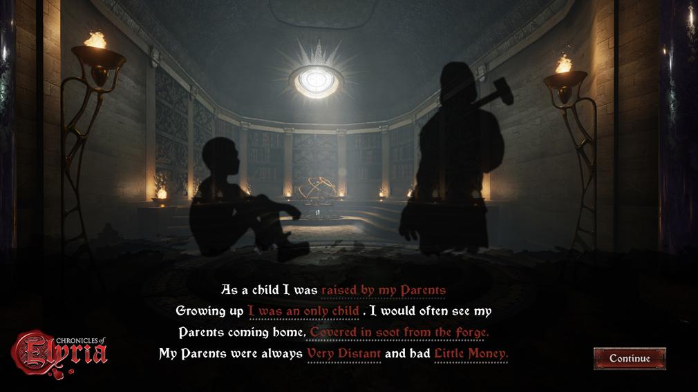 Chronicles of Elyria(クロニクルズ オブ イリリア) 孤児院で生まれる場合