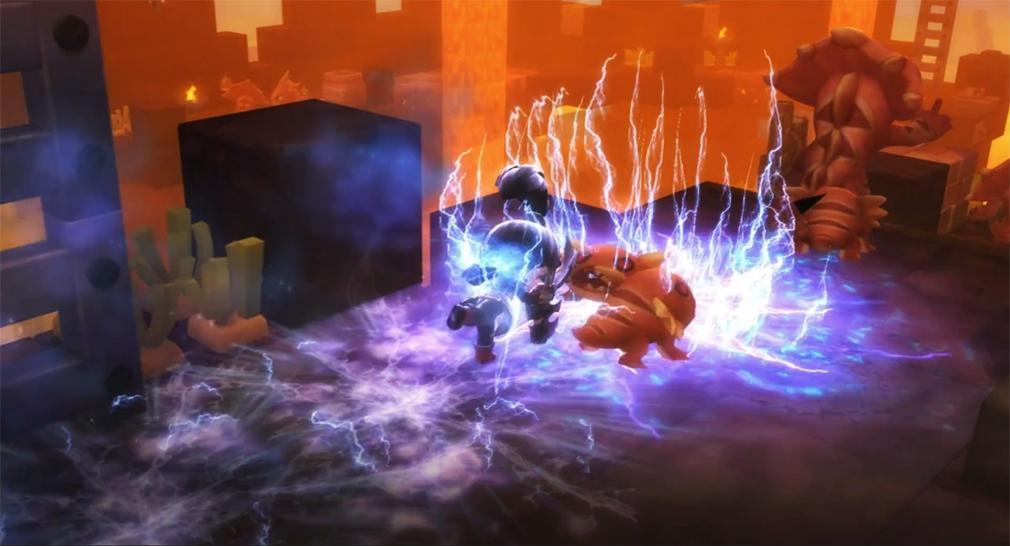 メイプルストーリー2(MAPLE STORY2) ルーン・ブレイダー(RUNEBLADER)バトル