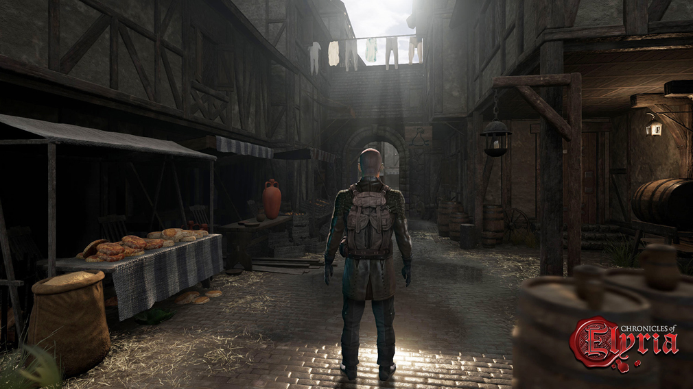 Chronicles of Elyria(クロニクルズ オブ イリリア) ゲームスタート地点