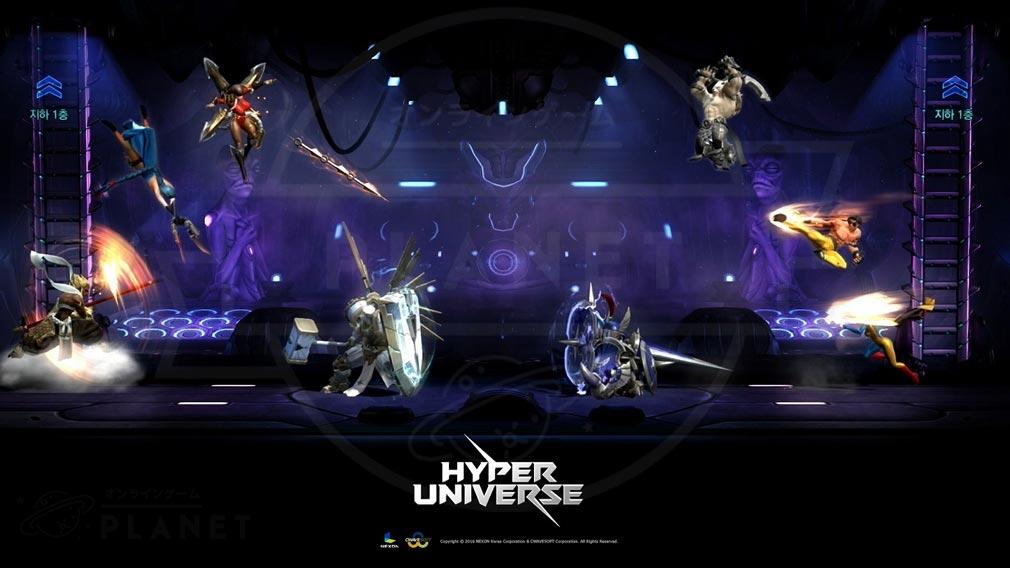 HYPER UNIVERSE(ハイパーユニバース)HU ハイパーキャラクターバトル