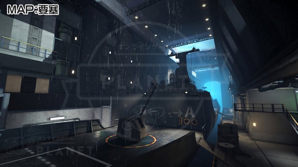 BATTLE CARNIVAL(バトルカーニバル) エリア・MAP:要塞