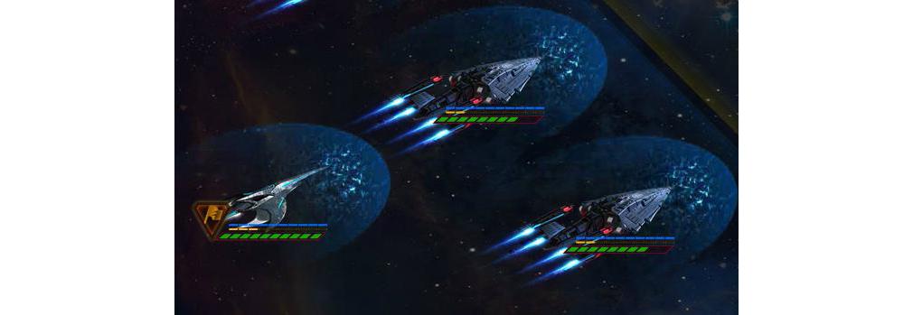 STAR TREK エイリアン ドメイン(スター・トレック) -生命体8472の陰謀- シールド展開