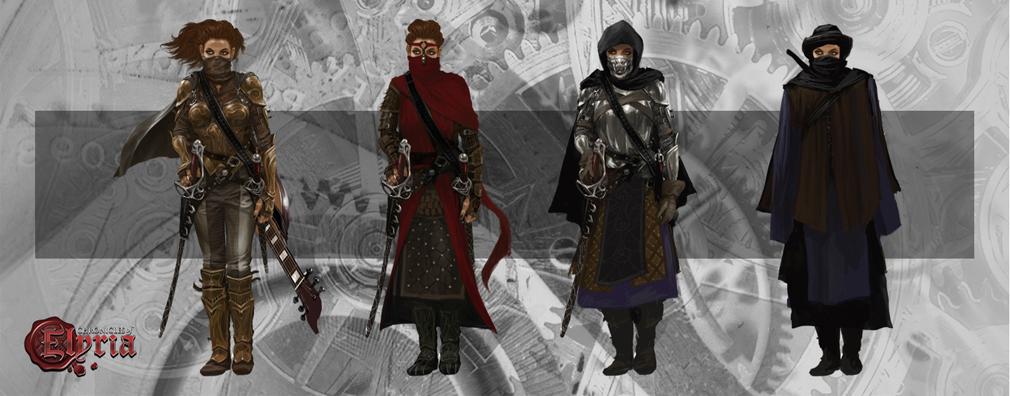 Chronicles of Elyria(クロニクルズ オブ イリリア) 各スキルに合わせた衣装