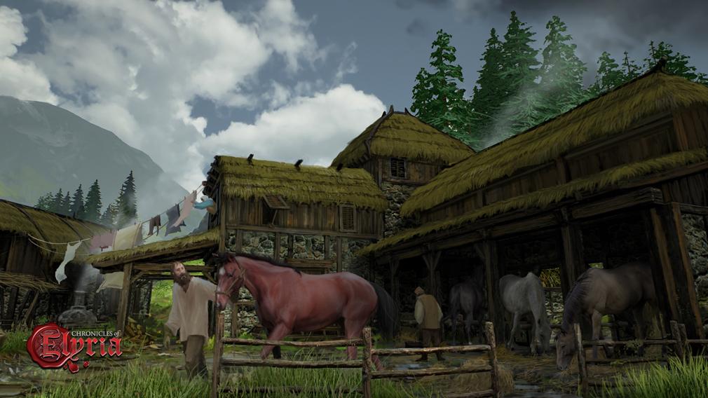 Chronicles of Elyria(クロニクルズ オブ イリリア) 牧場