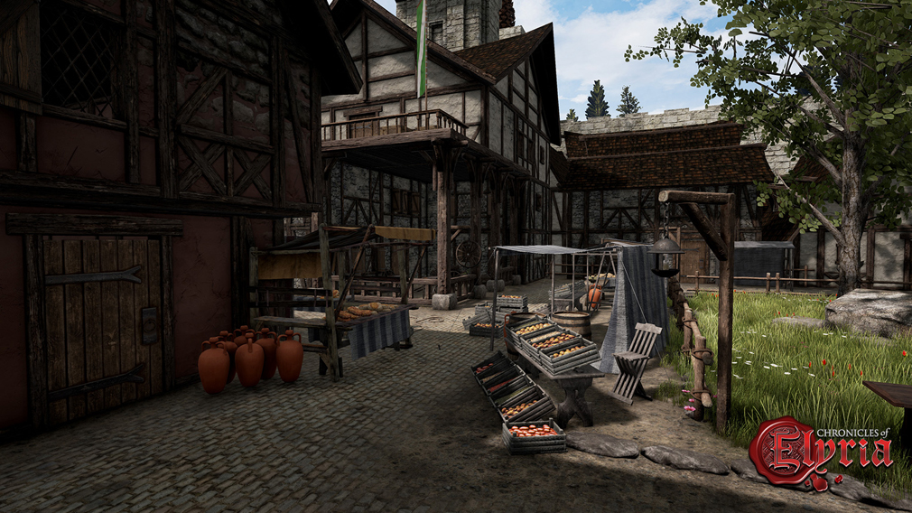 Chronicles of Elyria(クロニクルズ オブ イリリア) ハウジング