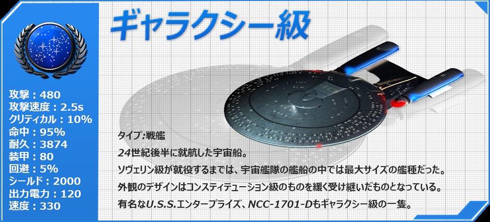 STAR TREK エイリアン ドメイン(スター・トレック) -生命体8472の陰謀- ギャラクシー級