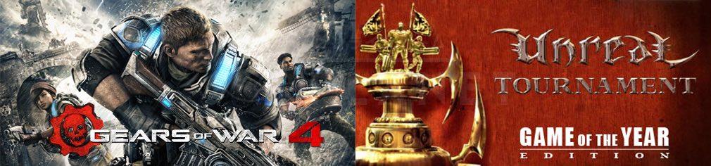 『Gears of War』シリーズ、『Unreal』シリーズ