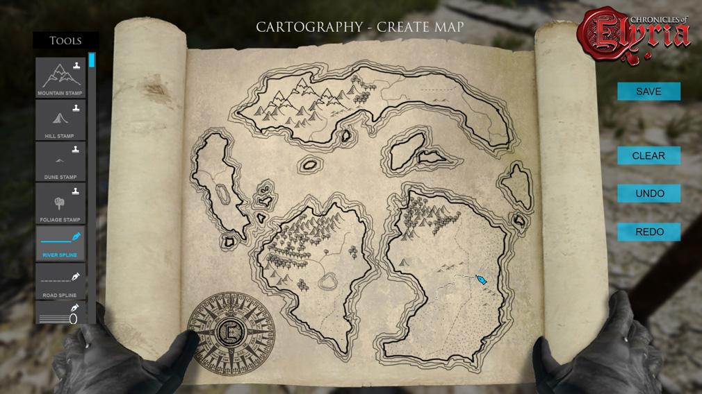 Chronicles of Elyria(クロニクルズ オブ イリリア) 地図作成