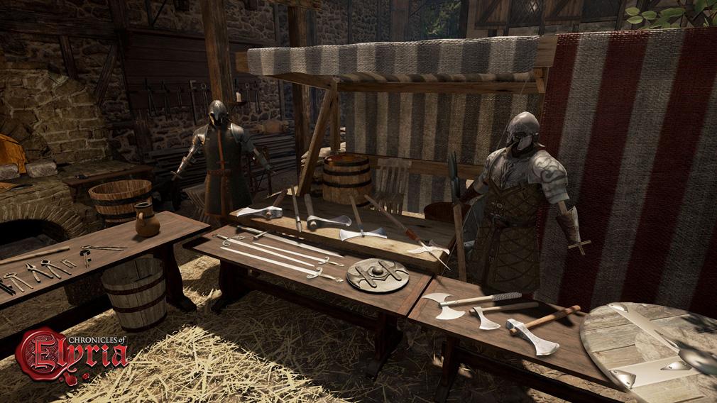 Chronicles of Elyria(クロニクルズ オブ イリリア) オフラインプレイヤーキャラクター